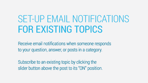 Turn on Topic Notifications